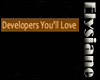 {E} Devs U Love Sticker