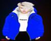 (M) DADDY Coat - Blue