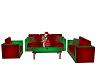 Christmas Sofa Set V1