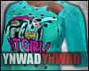 YN. BatGirl Sweater #2
