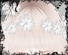 P| Hair Flowers White