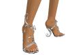 silver fairy sandals