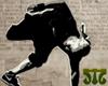 Stencil Art (B-boy)
