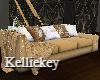 Gold Christmas Sofa