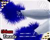 $ Fuzzies - Royal Blue