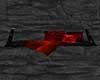 rød og svart benk