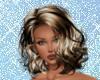 Tori  Blonde/Black Ombre