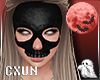 Skull Mask F   Black
