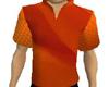 Orange Male Shirt