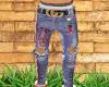 Amiri Jeans Stripes