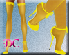 (DC)Stockings Yellow V
