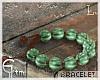 G.Sardonyx Beads'Green.L