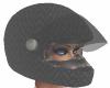 Black Scale Helmet (F)