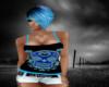 S!Blue Skull TankTop