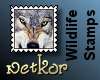 Wildlife Stamps: Wolf
