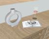 The Lele White Vase