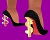 Black Red Bottoms $ Heel