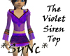 *Sync Violet Dream Top