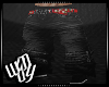 Black baggy's Red belt
