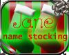 Christmas Stocking Jane