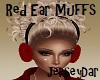 Red Ear Muffs