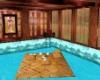 pool/floor matt,poses