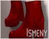 [Is] Fall Boots Red