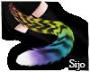 ♡LF Blk Tiger Tail♡