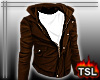 [T] Cool Jacket Brown