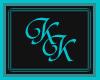 (KK)CPRI BLK TEAL FETHER