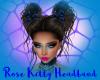 Rose Kitty Headband