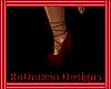 {Ro} Tied red heels