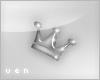 V~ Grey crown