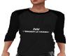 Males Black PAW Tshirt B