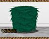 [V] Green Fur Stool