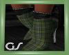 GS Lime Plaid Boots