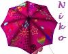 Colourful&cute umbrella
