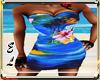 Hawaii blue dress