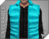 ~AK~ Ski Vest: Teal