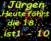 Jürgen Heute fährt die