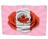 Canadian Rose Flag Pink