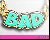 C|Bad Aqua Necklace