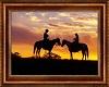 Cowboy Couple Art