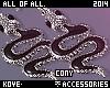 |< Cony! Snake Earrings!