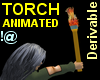 !@ Animated torch