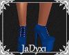 Platform Sneakers - Blue