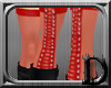 [D] Red Laced Stockings