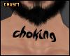© Choking Neck Tat