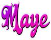 Maye Sticker