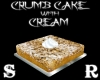 CRUMB CAKE WITH CREAM